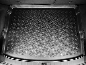 Tailored Fit Black Boot Liner Durable Car Mat for Nissan Qashqai (2014 onwards)