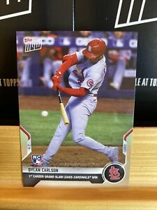 🛑👀 2021 TOPPS NOW DYLAN CARLSON #49 ROOKIE CARD RC 🔥