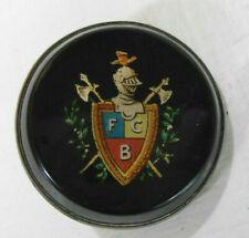 Vintage FCB Knights of Pythias Fraternal Bridle Harness Rosette Excellent