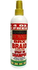 African Royale BRX Braid Spray on Shampoo, 12 oz (Pack of 4)