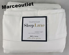 Charter Club Sleep Luxe 800 Thread Count KING Sheet Set White