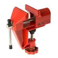 Stalwart Portable 2 Inch Jaw Aluminum Table Vise for Wood Metal Clamping