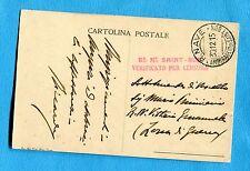 1915 R.NAVE / AMMIRAGLIO DI SAINT BON guller del 30.12.15   (255270)