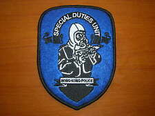 China Hong Kong Police Special Duties Unit Patch