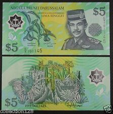 Brunei Polymer Banknote 5 Ringgit 2002 UNC