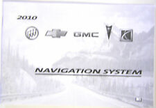 GM 2010 Acadia/Enclave Nav Manual #25986868B