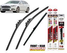"Ford Mondeo Estate 2014+ Full Set Windscreen Wiper Blades 28""28""PT11""W"