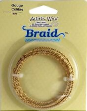 BRAID Artistic Wire Craft Copper 8-10-12-14-16 gauge