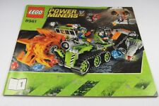 LEGO® Bauanleitung Instruction Nr. 8961 Power Miners™ Crystal Sweeper Heft 1