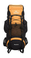 55L Outdoor Backpack Hiking Bag Camping Travel Waterproof Mountaineering Pack X1