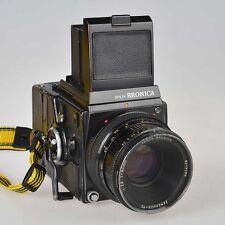 Zenza Bronica SQ-A con ottica zenzanon ps 80mm 1:2,8 fotocamera 6x6