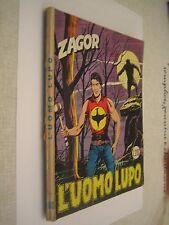ZAGOR ZENITH N. 100 L. 200 - L'UOMO LUPO -  LUGLIO 1969 - RARO