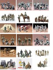Tamiya Military Figures 1:35 Scale Choice of kits for wargames, Dioramas