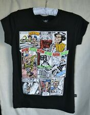 """""""DARKSIDE"""" NEW WITH TAGS BLACK COMIC STRIP T.. SIZE U.K.SMALL( SEE DESCRIPTION)"""