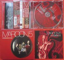 Maroon 5 Songs About Jane JAPAN CD with OBI & SLIPCASE 3 Bonus Track BVCP24048