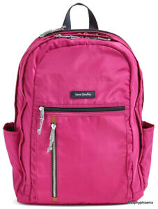 Vera Bradley Lighten Up Grand Backpack Bright Orchid NWT MSRP $108 FREE SHIPPING