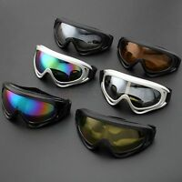 Anti-UV Ski Skiing Goggles Motorcycle Dirt Bike Off Road Cycling Racing Glasses