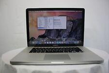 """Meilleures Offres pour Apple MacBook Pro 15.4"""" A1286 Core i7 2.66GHZ 4 Go 320 Go Grade A -"""