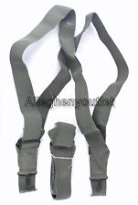 QTY (1) NEW USGI MILITARY M1950 Foliage Trouser PANT SUSPENDERS Elastic Harness