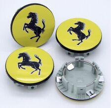 Ferrari Replacement Wheel Center Caps Yellow #70004868- 4pcs - 355 360 430 458