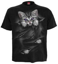 Herren-T-Shirts mit Rundhals Unisex Spiral