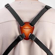 Adjust Leather BINOCULARS HARNESS Strap Belt for Range Finder DSLR SLR Camera