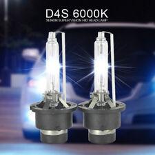 2X 6000K D4S Headlight Bulb Xenon HID Toyota Lexus IS250 ES GS300 Aurion 86 Taxi