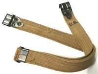 WWII US M1 KERR NO-BUCKLE CARRY SLING-GRADE 2