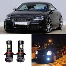 2x Canbus H11 3030 21SMD LED DRL Daytime Running Fog Lights Bulbs For Audi TT/RS