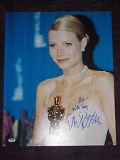 GWYNETH PALTROW Signed OSCARS 16 x 20 PHOTO with PSA COA