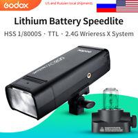 GODOX AD200 TTL 2.4G HSS 1/8000s Pocket Flash Light Double Head Flashlight Flash