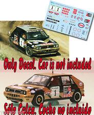 Decal 1:43 Fabrizio Tabaton - LANCIA DELTA - Rally El Corte Ingles 1991 Winner