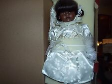 DOLL BY MICHAEL REID PEARL DOLL  FROM TREASURED HEIRLOOM COLLECTION