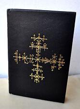 Liber Falxifer III Deluxe Ed Talismanic Medallion + Print Sitra Achra Grimoire