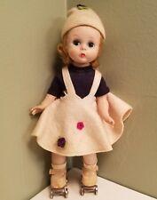 Vintage 1950's Madame Alexander- kins Doll on Roller Skates!