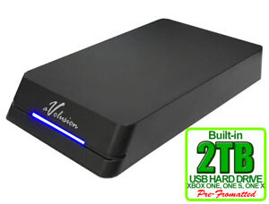Avolusion 2TB HDDGear Pro External USB 3.0 Gaming Hard Drive for XBOX ONE S / X