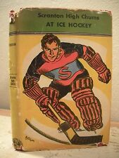 SCRANTON HIGH CHUMS AT ICE HOCKEY Ferguson 1919 HC/DJ High School Sports Mystery