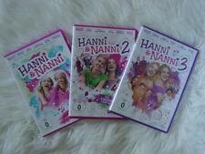 """DVD """"Hanni Und Nanni 1,2,3"""" Super Pack Mädchen Film lustig spannend"""