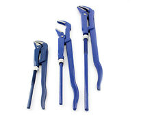 """pinces Multi-prises 3 pièces 1 """" + 1,5 """" + 2 """" pouces Bleu a tuyaux Set clé"""