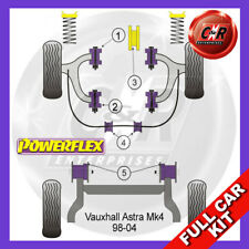 Opel Astra MK4 - Astra G (98-04) Not 2.0T Powerflex Complete Bush Kit