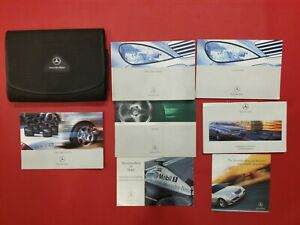2001-2004 Mercedes A Class Owners Manual, User Guide, Service Book, Wallet 2001