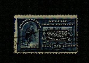 USA. 1895. SPECIAL DELIVERY. 10c BLUE PERF 12. G.U. SG No. E283 cat £15+