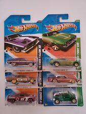 Hot Wheels Super Treasure Hunt 2008-2011-2012 Lot of ( 6 )