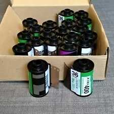 35mm film cartridges, metal film canister, *25pcs, ISO400 DX-coded
