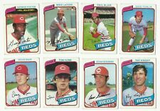 VINTAGE 1980 TOPPS MAJOR LEAGUE BASEBALL CARDS – CINCINNATI REDS – MLB