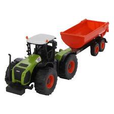 Norev 431000 Claas Xerion 5000 + Anhänger Kunststoff Maßstab 1:43 NEU! °