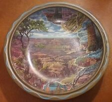 Vintage Grand Canyon National Park Bowl 1950s The Hopi House, Bright Angel Trail