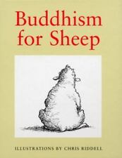Buddhism for Sheep - Illustrated by Chris Riddell (1996, Hardcover)