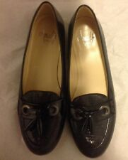 Amalfi By Rangoni Shoes Size 6M Womens Black Slip On Flats