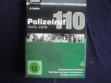 3 DVD DDR Polizeiruf 110 !!! 1974-1975